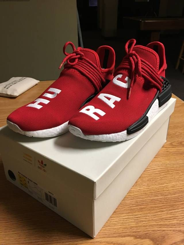 369d2a0c44fbb Mens size Human Race Adidas HU Shock Pink   PW unauthorized sneakers