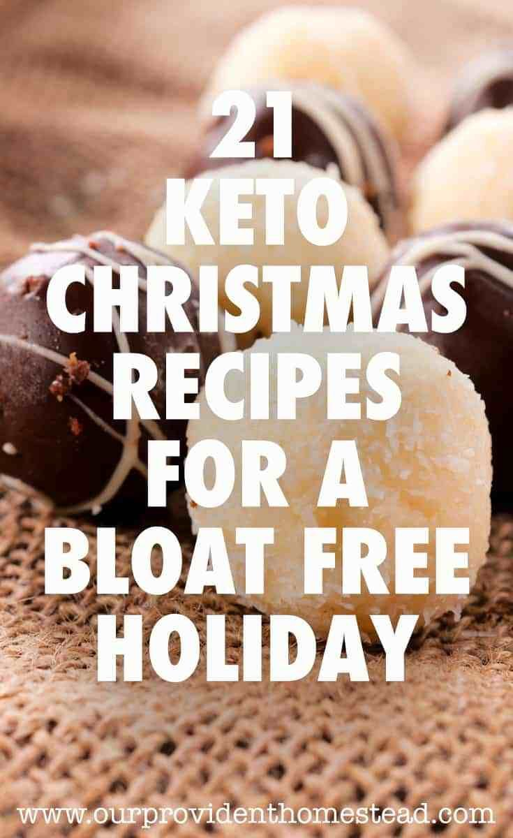 21 Keto Christmas Recipes For A Bloat Free Holiday