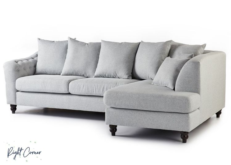Chigwell Corner Sofa Club Fast Delivery Fabric Double