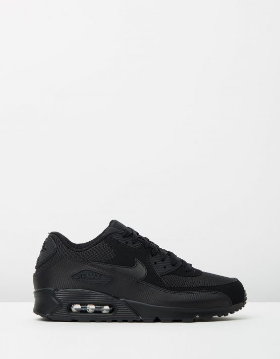outlet store b22a2 99008 Nike Air Max 90 Essential Black