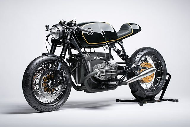 Germany's Diamond Atelier craft motorcycles so clean you could eat off them. And they don't do one at a time - the team work and refine a design, gather the parts and build a limited run of them. It's a clever process that keeps the workshop humming and the price well below frightening...