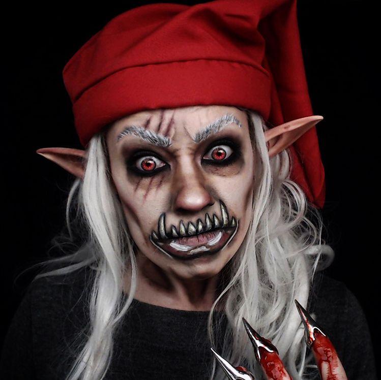 Redcap Goblin Elf Makeup Horror Halloween Ig Thetrashmask