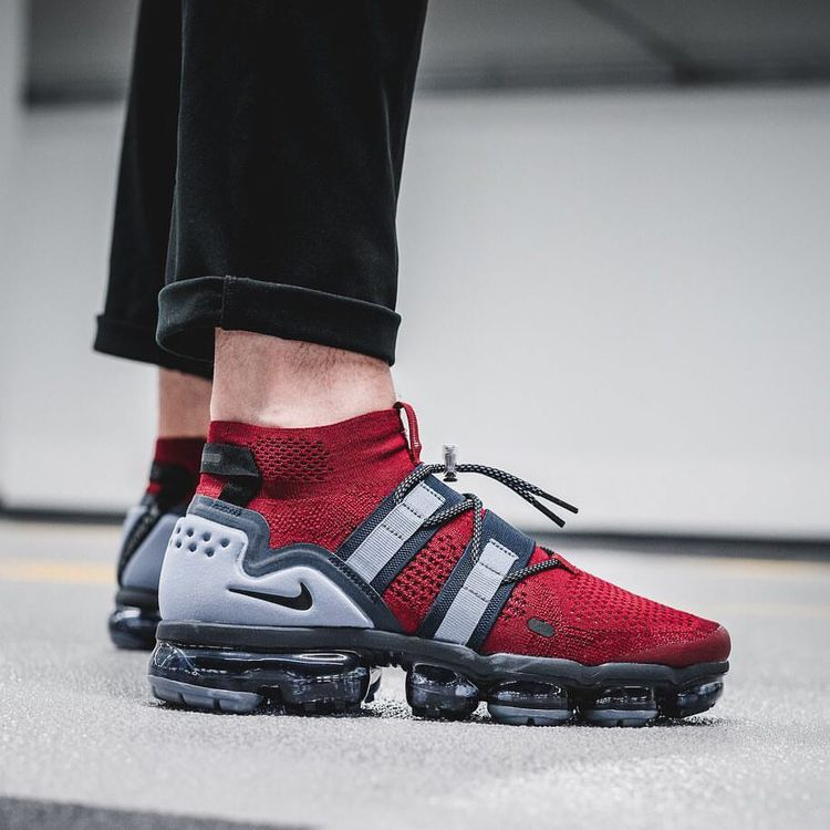 cd95c8a7df82 The rugged Nike Vapormax Utility gets a tough new Team Res colorway. For a  full detailed look at this new release