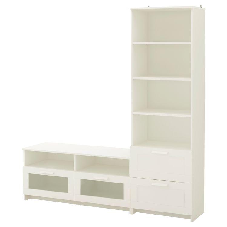 Ikea Brimnes Tv Storage Combination White