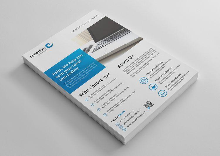 Sacramento Professional Business Flyer Template - Graphic Templates