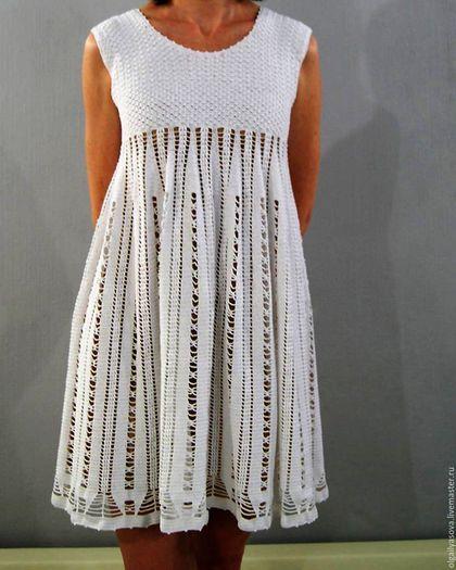 bc4722caa596 Платья ручной работы. Ярмарка Мастеров - ручная работа. Купить Белое нежное  платье. Handmade. Белый, красивое летнее платье