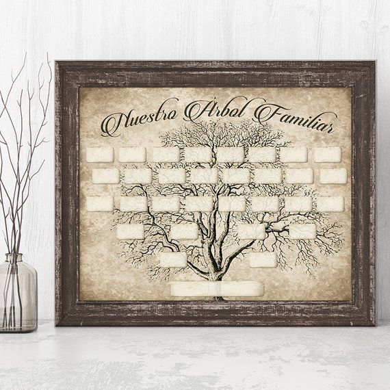 spanish family tree printable 5 generation template inst