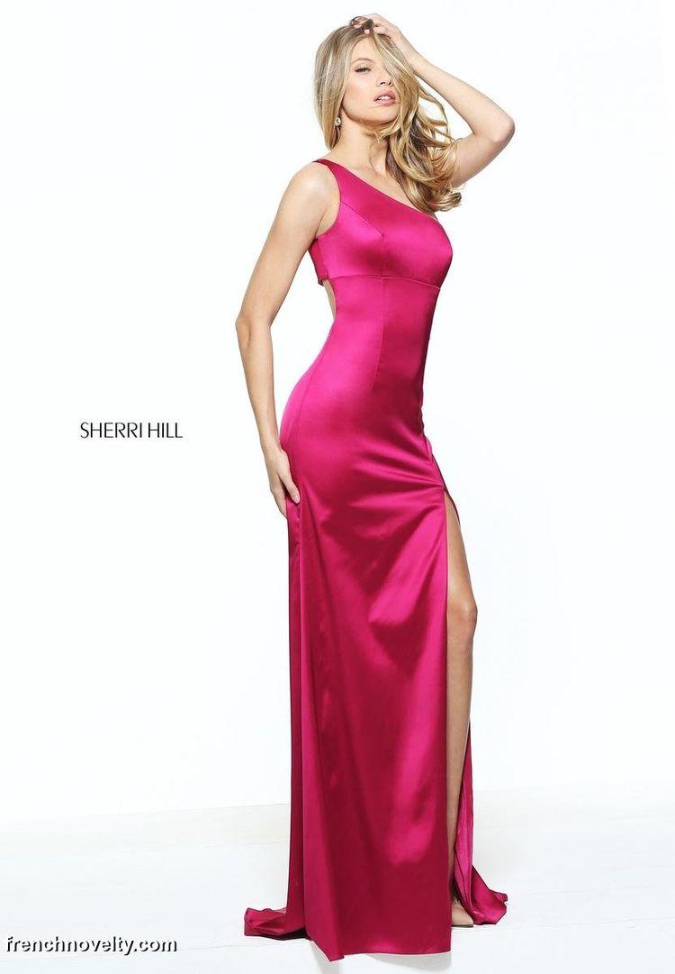 fa074b773c3 Sherri Hill 51007 One Shoulder Evening Dress