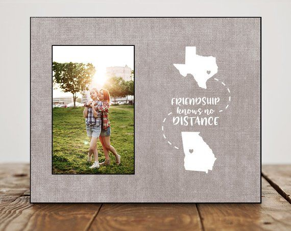 Best Friend Birthday Gift Personalized Long Distance P