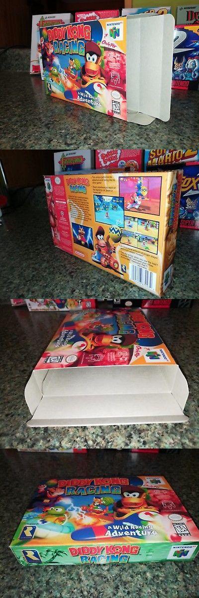 Manuals Inserts And Box Art 182174 Diddy Kong Racing Box O