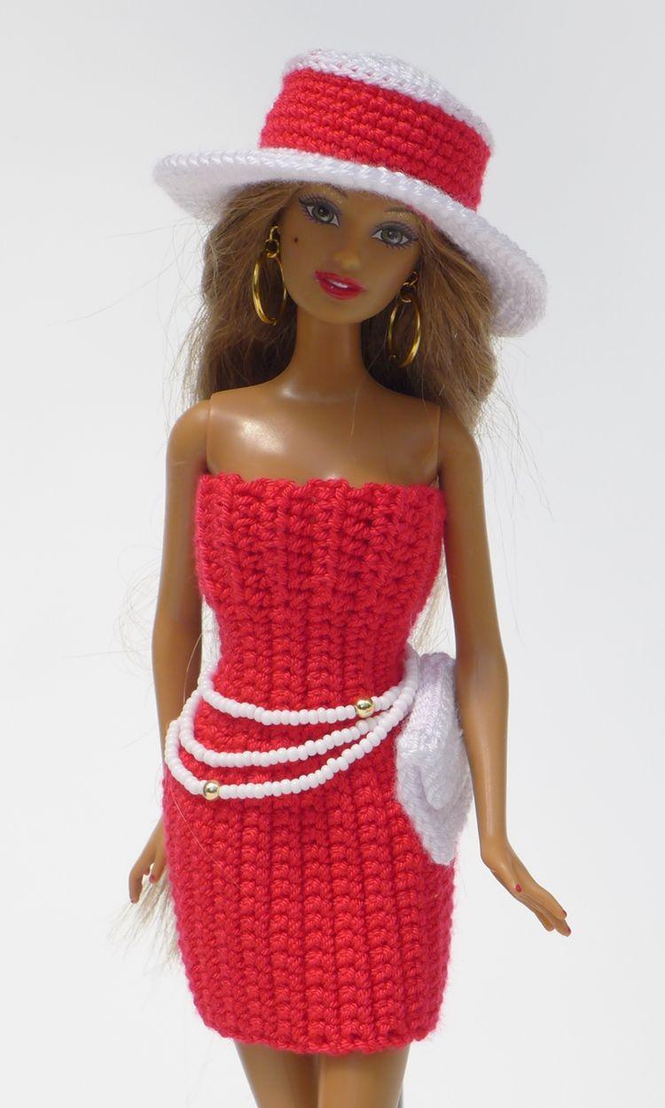 Schickes Sommer Outfit Einfach Selberhäkeln Hut Kleid C