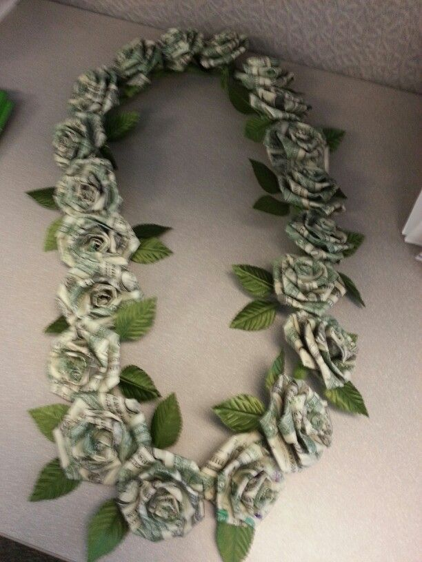 Lei Can Be Made With Construction Paper Yarn Solid: Genuine Kukui Nut Money Lei. You Can View More Of My Money