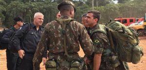 Militares de Israel combatem queimadas chegam em Rondônia