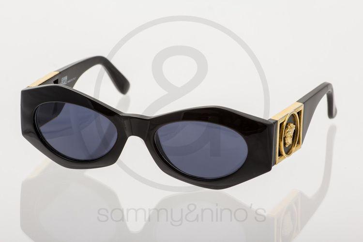 9561860cfd41 Image of Gianni Versace Mod.422 B black    Vintage Sunglasses