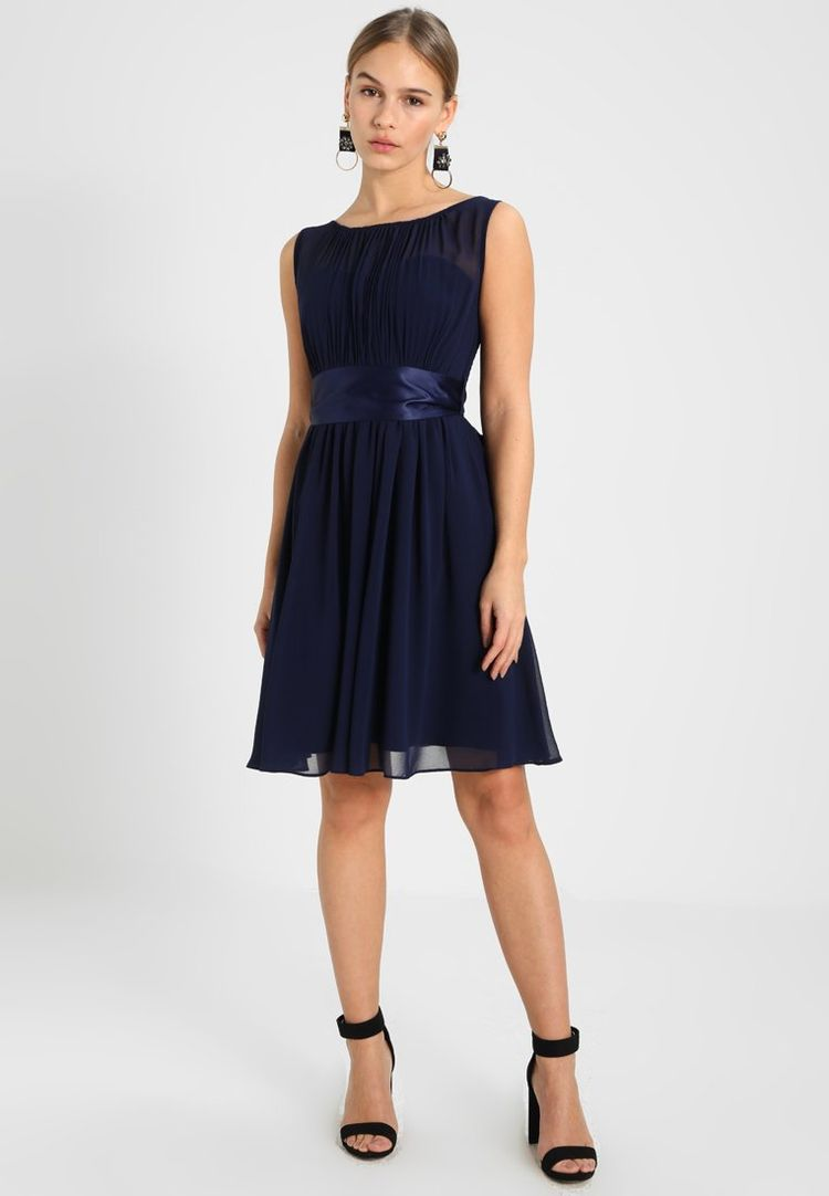 Cocktailjurk Zalando.Beth Prom Dress Cocktailjurk Navy Zalando Nl
