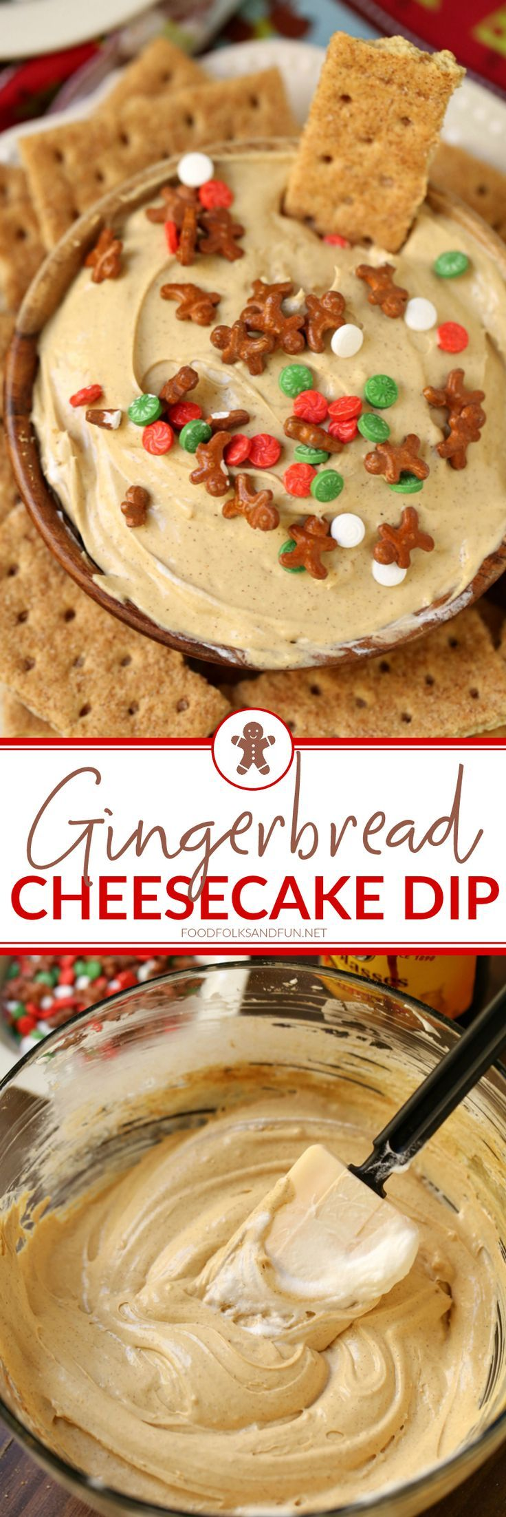 This Gingerbread Cheesecake Dip is always a party favorite for the holidays. Make it for your next holiday get together and I guarantee you'll be the most popular person in the room!
