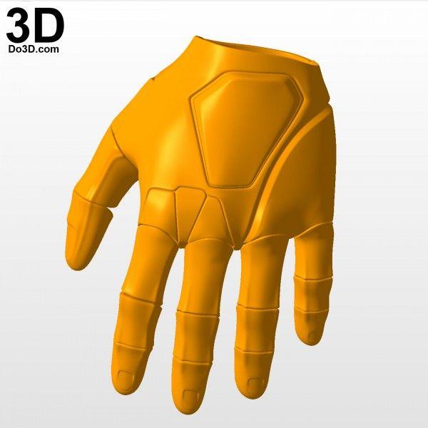 3D Printable Model: RoboCop Silver Suit / New Armor (2014 F