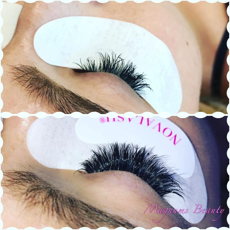 Nova Eyelashes Lashes Magnumsbeauty Novalash Novabab