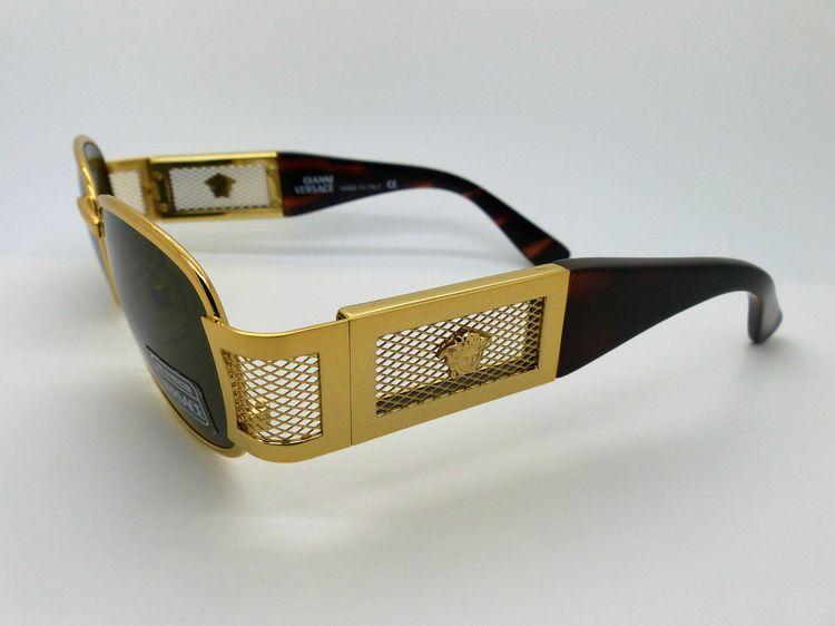 acda6486fab Genuine Vintage Gianni Versace Medusa Sunglasses Mod X26 M Col 030 Very Rare
