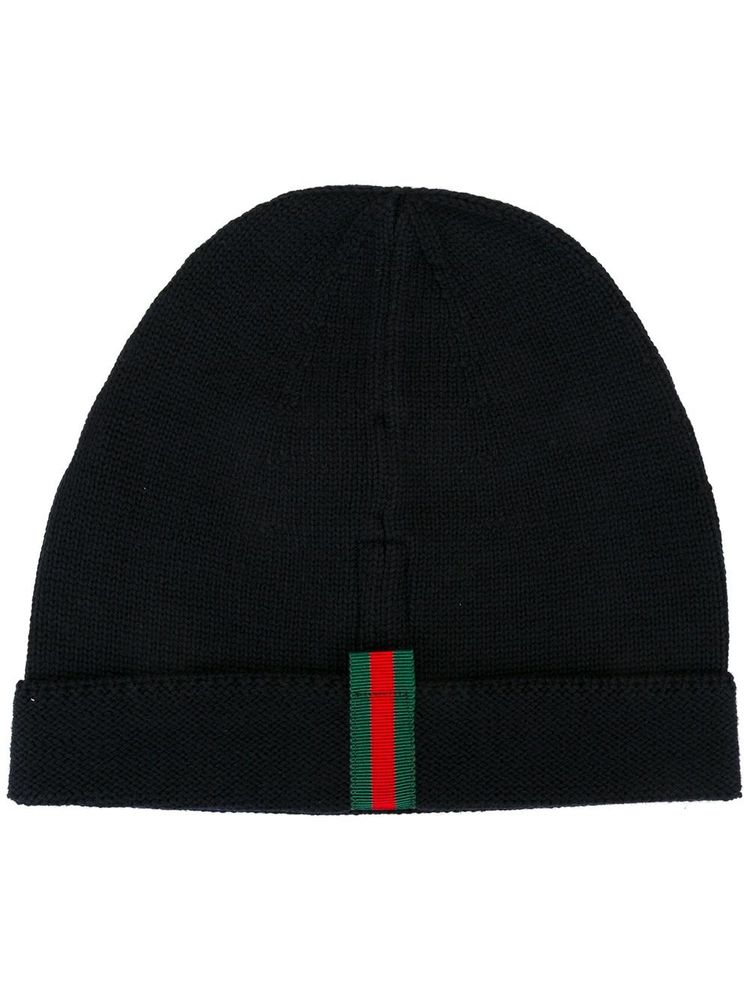Gucci striped detailing beanie 199180feb8c