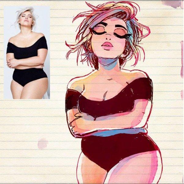 Artista Transforma Pessoas Em Desenhos Animados E Resultados São Incríveis