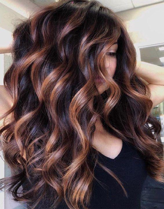 Perfect Highlights of Balayage Hair