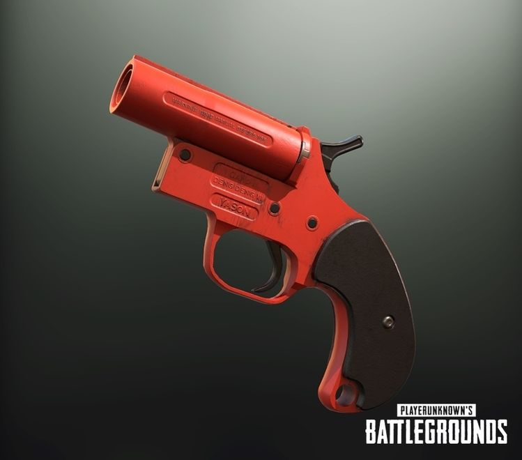 Delightful Pubg Flare Gun Hd Wallpaper Pubg Mobile Wallpapers Pubg P