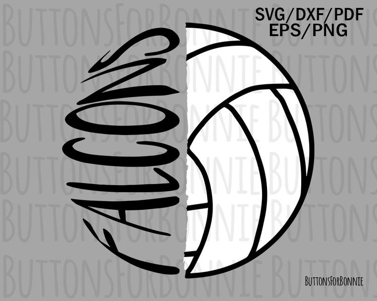 falcon volleyball svg, volleyball mom svg, cut file, volle