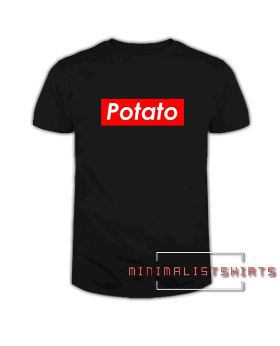 6b21d5e807b0 Supreme Potato Tee Shirt for men and women. It feels soft