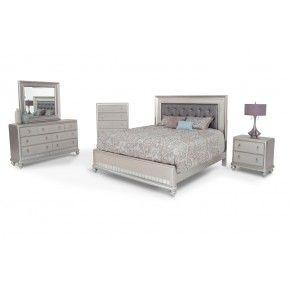 Diva 8 Piece Queen Bedroom Set