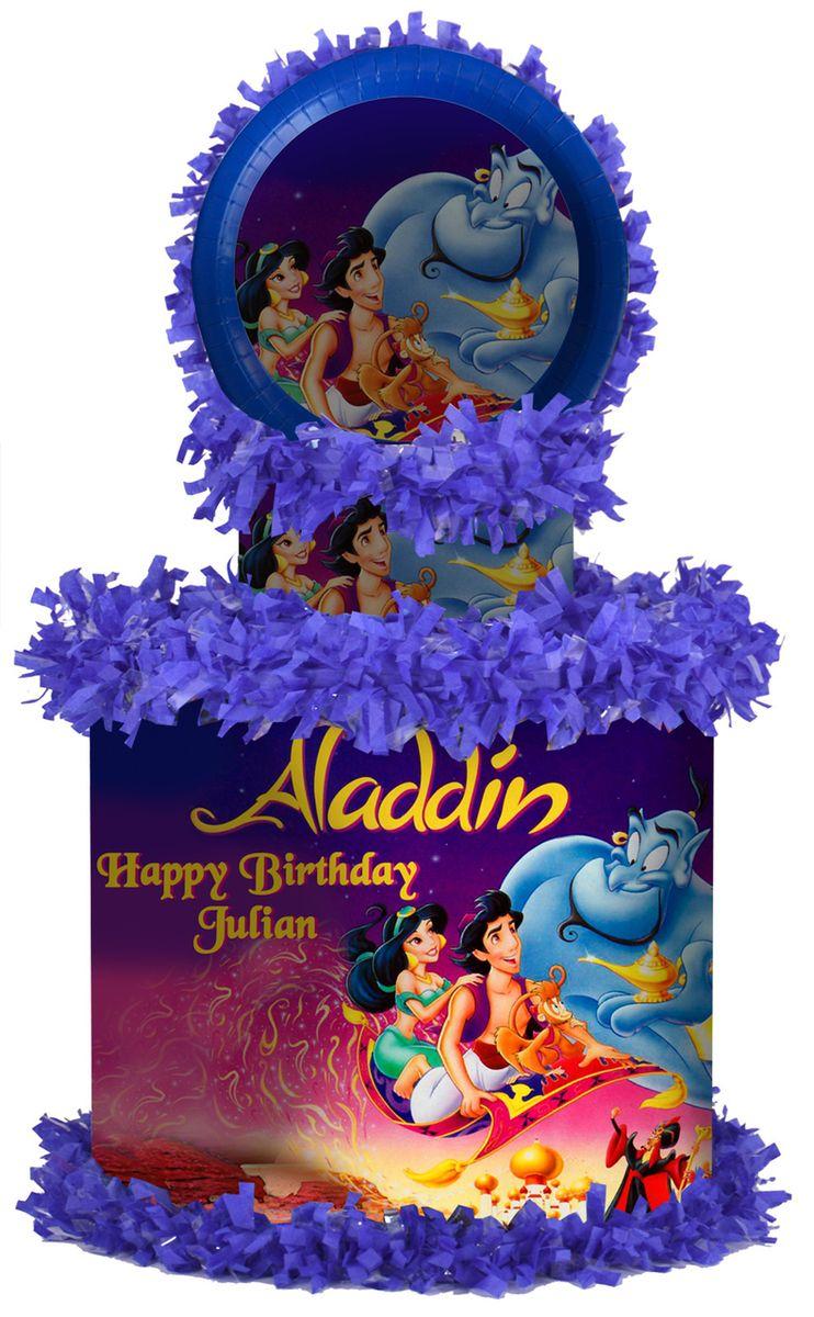 Aladdin Large Personalized Pinata