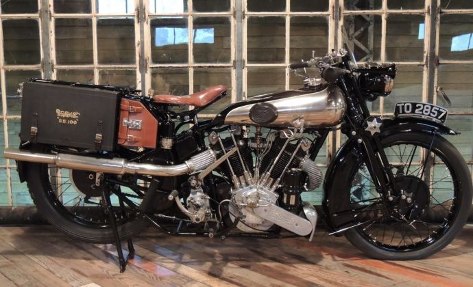 1926 Brough Superior SS100AGS
