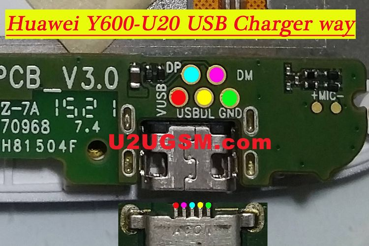 Huawei Ascend Y600 Usb Charging Problem Solution Jumper Way