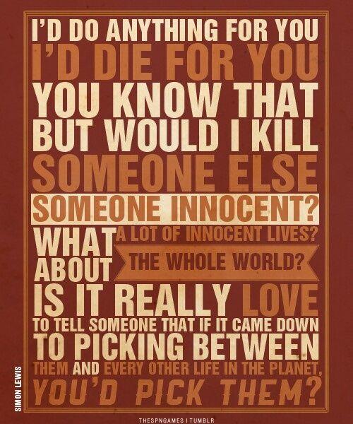 mortal instruments quotes | Simon Lewis Quote From The Mortal Instruments - Gotta love Simon.
