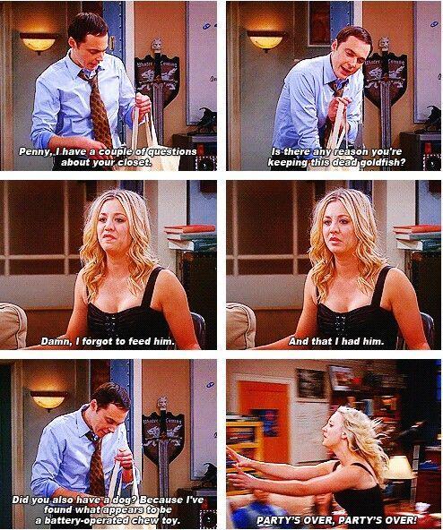 Sheldon Cooper... Adorable.