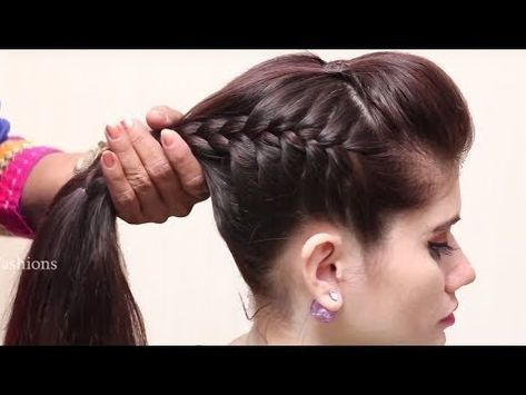 Beautiful Unique Hairstyle For Long Hair Hairstyle Tutor