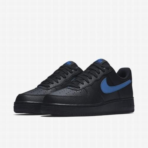 online store 2bb74 6a6c1 Mens Size 12 Nike Air Force 1 07 AA4083-003 Black Gym Blue Brand New with  Box  fashion  clothing  shoes  accessories  mensshoes  athleticshoes (ebay  link)