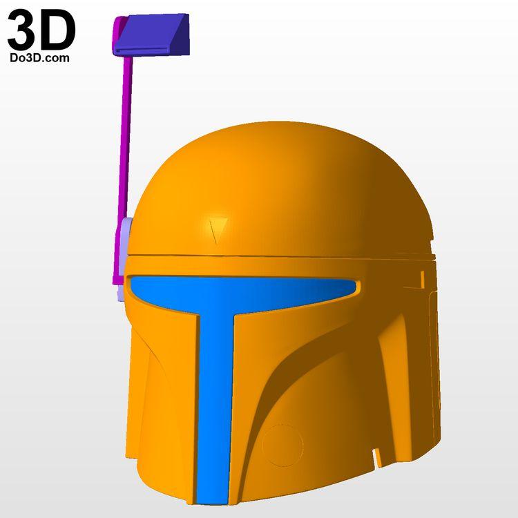 3D Printable Model: Ralph Mcquarrie Boba Fett Variant Helme