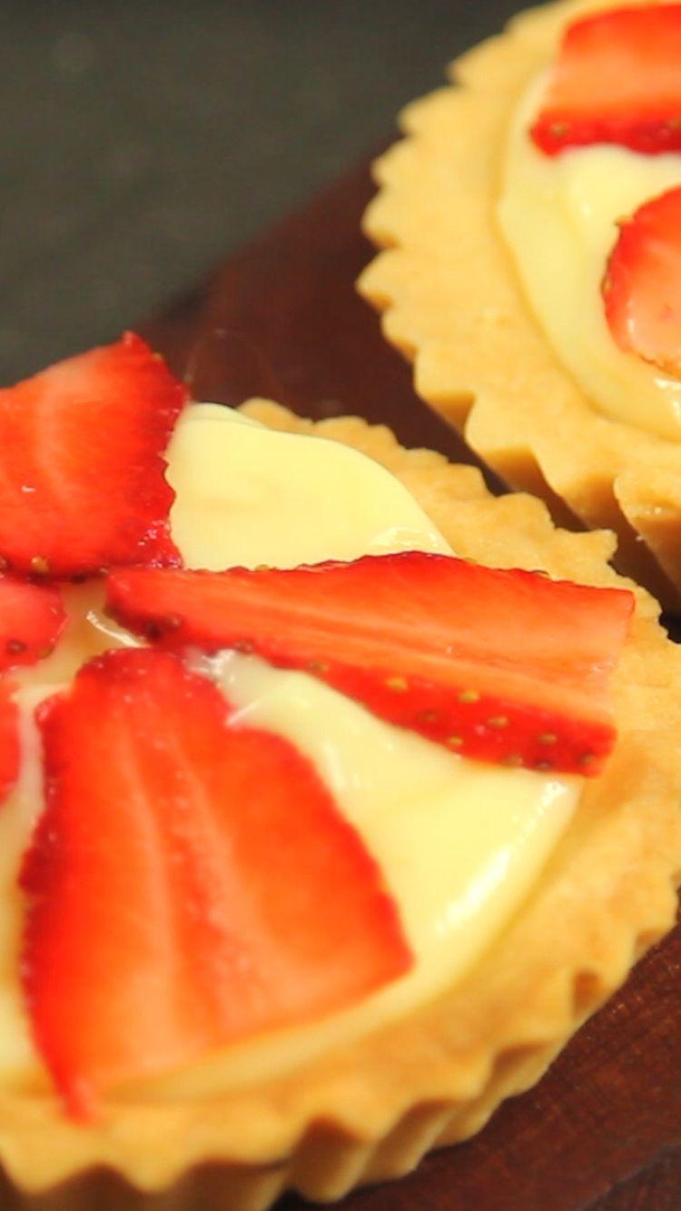 Tartaleta de Fresas y Crema Pastelera