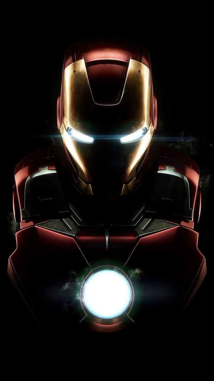 Iron man, dark, armor, mark vii, 720x1280 wallpaper