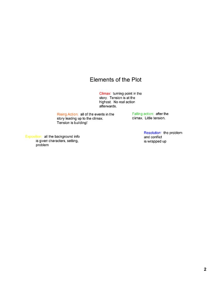 plot diagram examples pdf