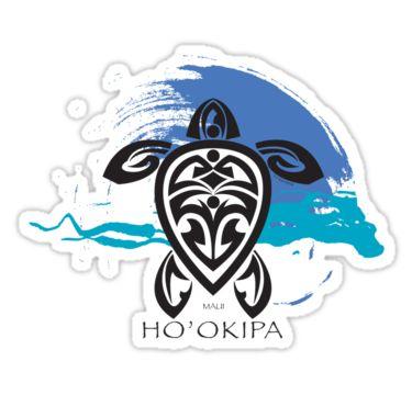 5414c96f7 Tribal Turtle Ho'okipa, Maui | Sticker