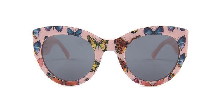 61b5f536644d4 Versace VE4353 Pink   Gray Lens Sunglasses