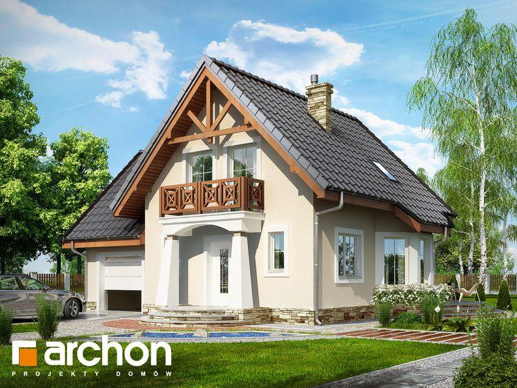Projekt Domu Jednorodzinnego Dom W Rododendronach Ver2 In