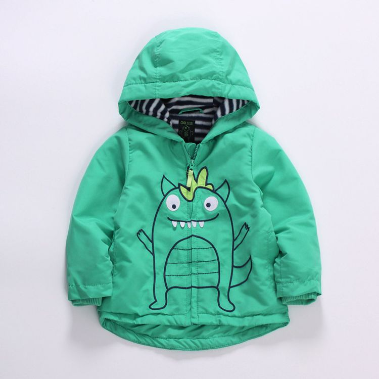 32cf422869f8 Baby boys spring autumn hooded windproof jacket