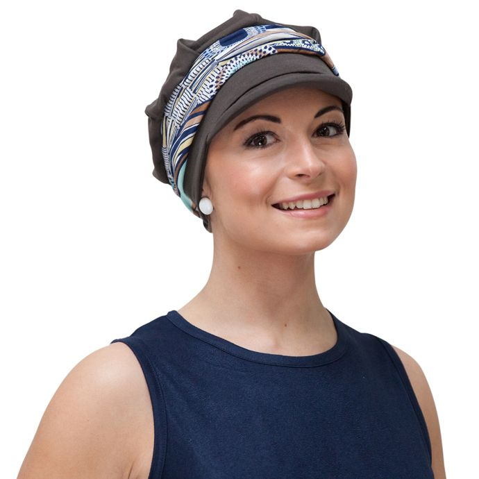 bcbf94a5a09ad Chemo hats with a difference - stylish Baker Boy cap for womens  hair loss