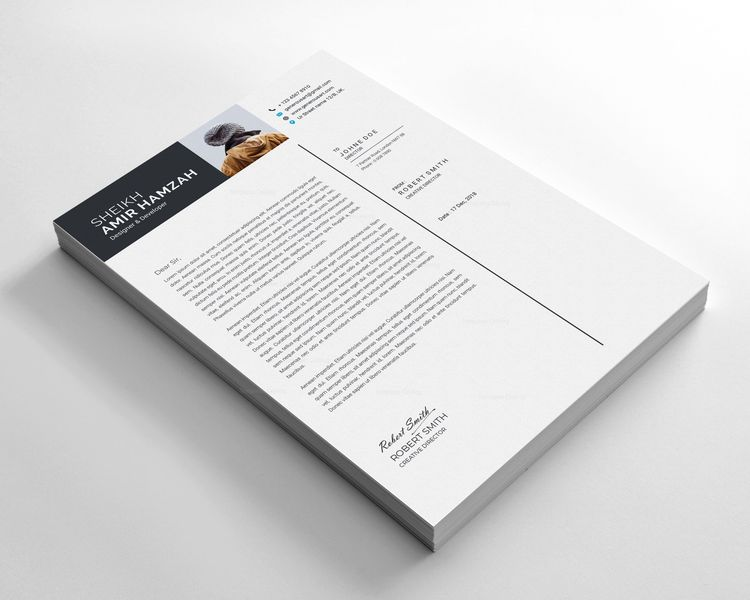 Outstanding Resume Design Template 002798 - Template Catalog