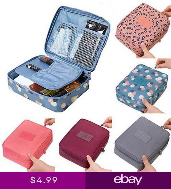 d932c8dde36d Women Wash Bag Toiletry Cosmetic Travel Make Up Pack Hangin