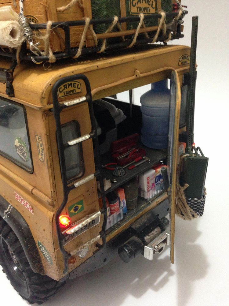 Land Rover Camel Trophy CC01 Tamiya RC Crawler #rccars