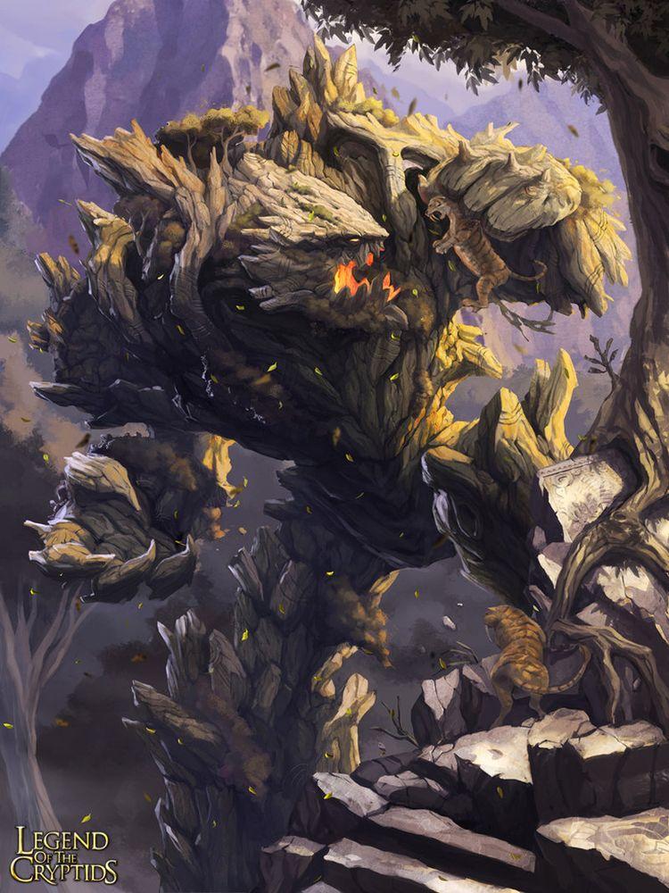 Legend of the Cryptids - Woodland Behemoth 2.0 by MarcWasHere.deviantart.com on @deviantART